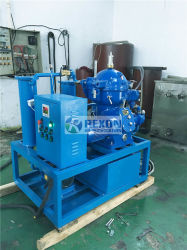 높은 만족한 입자 기름 정화 처리를 위한 원심 작용을 받게 하는 기름 분리기