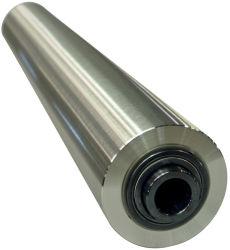 Aço inoxidável rolete da engrenagem intermediária - Eixo morto para o papel ou a indústria têxtil