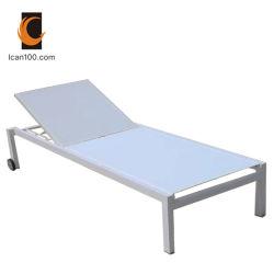 Anti-Aging kommerzielles im Freienrattan-Weidenstrandsun-Stuhl-Bett-Wagen-Aufenthaltsraum (I can-60002AT)