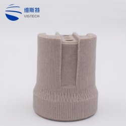 La base de lámpara de luz E27 portalámparas de cerámica de alta calidad de titular de la base
