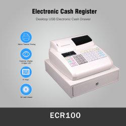 Gavetas para dinheiro da caixa de caixa de supermercado Caixa registradora eletrônica Máquina (ECR100)