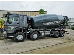 Sinotruk HOWO 8*4 371HP 또는 336HP 18m3 18cbm 판매를 위한 구체 믹서 트럭을 섞는 18 입방 미터 이동 시멘트