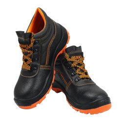 2020 Industrial de moda homens trabalham em aço laranja preto leve Toe Calçado de segurança