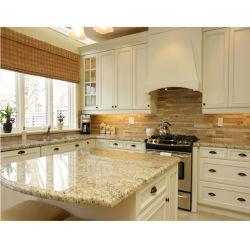 Gelb/Gold/beige/weiße natürliche Steinfliese/Platte/Küche-/Badezimmer-Granit für Hotel/Gebäude/die Pflasterung/Skulptur