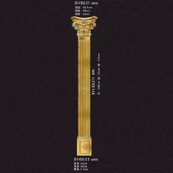 Interior&Exterior Dekoration PU-römische Spalte-/Pilaste neue Form-römische Spalte-Form PU-dekorative Pfosten