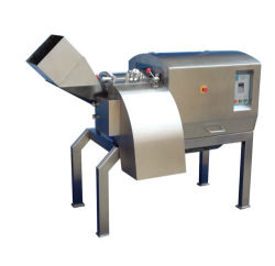 Salami-Scherblock-automatisches Ziegenfleisch-Ausschnitt-Maschinen-Rindfleisch-Fleisch-Ausschnitt-Maschinen-Schweinefleisch