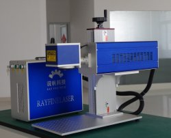 Hölzernes ledernes Papier der HF-Metallgefäß CO2 Laser-Markierungs-Maschinen-30W 50W Fow
