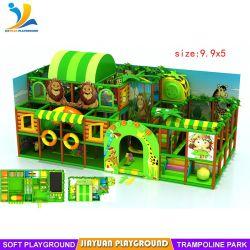 卸売のジャングルの主題の柔らかい屋内演劇は子供のためにセットした