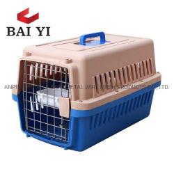 Andere Haustier-Produkte, die Haustier-Träger-Hunderahmen-Plastikfluglinie falten