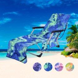 Красочные Бассейн Холл из микроволокна стул крышку полотенце на пляже полотенце
