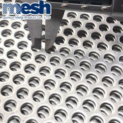 Maglia perforata del metallo del foro 3mm di spessore dell'altoparlante del cerchio rotondo della griglia