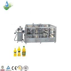 5000 Bph Orangensaft-Eis-Tee-gekohlte Saft-Aroma-Wasser-Vitamin-Wasser-Plastikflaschen-füllende Verpackmaschine
