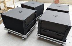 프로페셔널 오디오 스피커 서브우퍼 시스템 18인치 네오디뮴 베이스 캐비닛