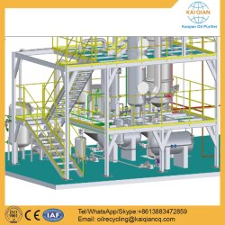Déchets d'usine de traitement de l'huile moteur sale nouvelle huile de base de régénération