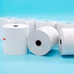 Индивидуальные бланки наматывается Высококачественный 80x80мм 57x50мм термографической бумаге кассовых рулонов