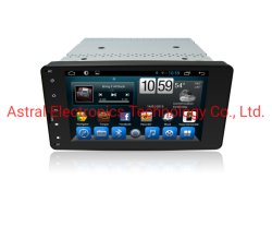 7-duim Touchscreen van Mitsubishi Outlander Androïde Auto van Infotainment Systeem Van verschillende media met GPS Navigatie Autoradio Bluetooth 4G SIM DSP Carplay