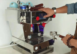 Cafetera eléctrica equipo de Té de leche/Commericial Espresso coffee maker