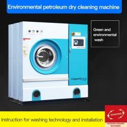 15kg de aceite de profesionales industriales Máquina de limpieza en seco/lavado industrial /seca, limpia/lava equipamiento para Hotel/Hospital (SGX)