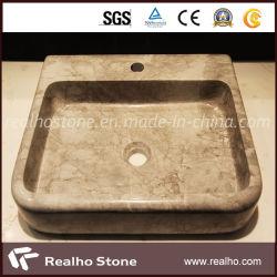 Marbre/granit/Quartz/lavabo en marbre artificiel