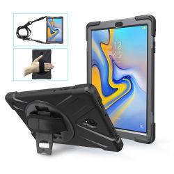 Для iPad PRO 9.7 прочная противоударная сумке с запястным ремешком и гибкие 360 градусов Вращающаяся подставка