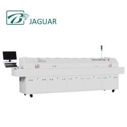 Jaguar горячая продажа 8 зон нагрева ИК печи оплавления для светодиодного производственного оборудования машины