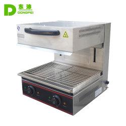Aparato de Cocina comercial de acero inoxidable Calentador comida Salamandra