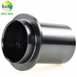 Lentille de télescope le métal des tubes de pièces de machines CNC aluminium anodisé de précision