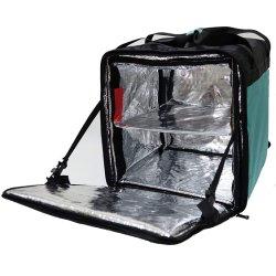 Мешок для доставки продовольствия тепловой вынос окно устойчив к загрязнениям доставка пицци в мешки горячего