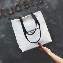 印刷のトートバックが付いているLeisure Canvas Bag Without女性ライニング
