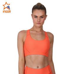 Insiemi attivi delle donne di usura di forma fisica del commercio all'ingrosso degli abiti sportivi di yoga delle ghette di sport delle donne rapide asciutte del reggiseno
