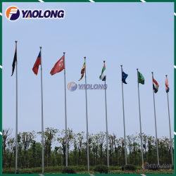 10m 304L Polo bandera al aire libre con la resistencia al viento