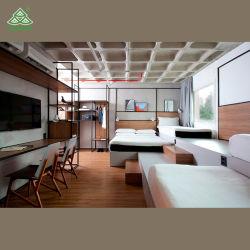 専門デザインMetal+Woodホテルの寝室の家具