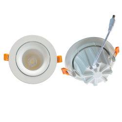 Коммерческих 5W/7W/9W/12W/15 Вт для использования внутри помещений LED Круглый потолочный направленного вниз лампа освещения встраиваемый SMD светодиодная лампа
