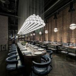 5-звездочный отель ресторан мебель современного дизайна лобби мебель