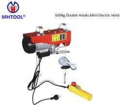 PA 600 kg Mini Monofásica de fio eléctrico Rope Guindaste/ Micro Cabo de Aço guindaste para 110V, 115V, 120V, 220V