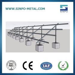 Toit plat Solution de montage PV solaire pour le système solaire