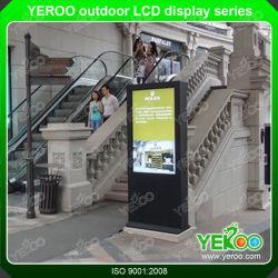 Visor LCD de publicidade impermeável ao ar livre