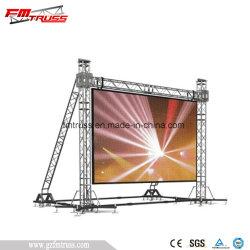 이동하는 맨 위 가벼운 Truss 대, LED 스크린 Truss 전시