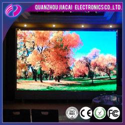 Display LED di sfondo con tavola a colori P3