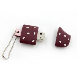 귀여운 PVC 아이스크림 쉐이프 USB 플래시 드라이버 USB 스틱
