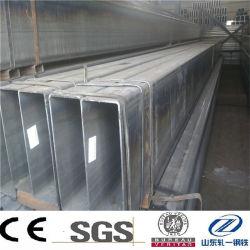 ASTM A500 Gr. B SEAMLESS Rectangle structurelles de l'acier au carbone section creuse du tuyau en acier