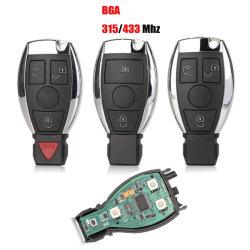 Venda por grosso chave do carro Mercedes Benz Nec e encapsulamento BGA e ser Vvdi Chave Remoto com botão 3/2 315/433MHz