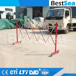 Portable extensible barrière écologique de la sécurité routière la clôture de pliage en aluminium