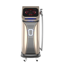 808nm Máquina de remoção de pêlos a laser de diodo origem coerente Bar forte poder de resfriamento rápido