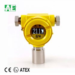 工場価格の固定産業LPGのガス探知器