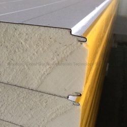 Dach-/Wand-feuerfestes/IsolierEPS/Rock GlasWool/PU/Polyurethane/PIR Schaumgummi-Vorstand-Zwischenlage-Panel für Stahlkonstruktion/Werkstatt/Kaltlagerung