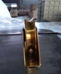 スライドのドアのためのベアリングが付いている深い溝の玉軸受Uの溝プーリー車輪