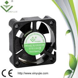 Mini ventilador sem escova quieto super 30X30X10 do refrigerador do copo do ventilador de refrigeração 5V da C.C. 12V 30mm