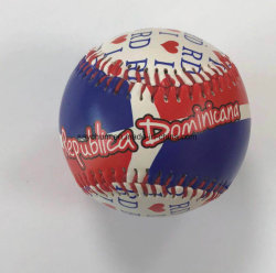 Custom Design logo imprimé Photo Standard en PVC balle de baseball de PU