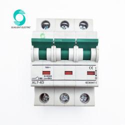 Venta caliente Nuevos Productos Ec7-63 XL 3P 750VDC en off Sigma MCB MCB Mini L7